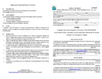 ENGLISH FOR GAME ISCRIZIONE E REGOLAMENTO